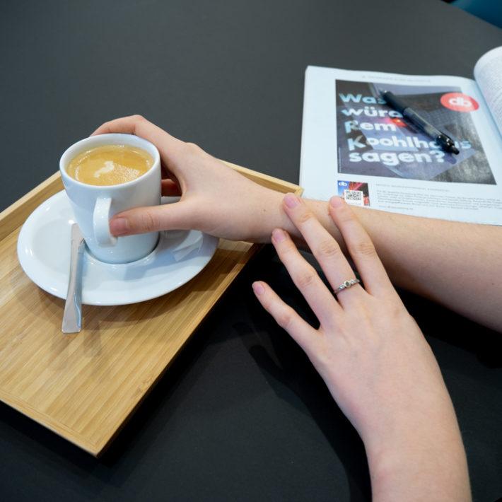 Kaffee gegen Schreibblockaden